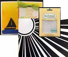 Horizon Sun Embossing Folders Walking on Sunshine Teef14 Taylored Expressions