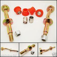Classic Mini Lower Arm Suspension Cross Pin Kit INCLUDING Nuts & PolyFlex Bushes