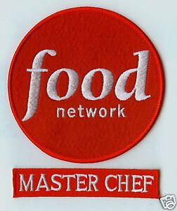 FANCY DRESS HALLOWEEN COSTUME PARTY PROP: FOOD NETWORK MASTER CHEF 2-PATCH SET