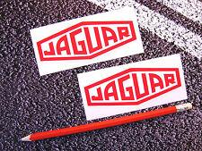 JAGUAR Vintage Style Emblem Stickers Classic Car S Type XJ XK E Type 10cm Lemans