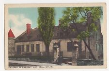 Canada, Chateau De Ramezay Montreal Postcard, A815