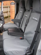 Ford Transit Custom Cab in 2013 on Tailored Seat Covers + Free Embroidery.