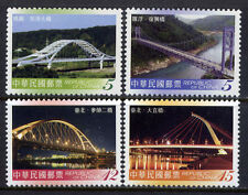 CHINA TAIWAN Sc#3732-5 2007 Bridge MNH