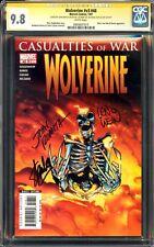 New listing Wolverine 48 Cgc 9.8 3X Ss Stan Lee John Romita Len Wein Mcu X-Men Mint Movie