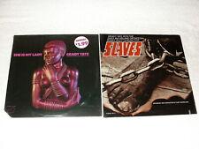 "(2) SEALED LP's - Grady Tate ""She Is My Lady"" , ""Slaves"" 1070's Jazz, Orig Press"