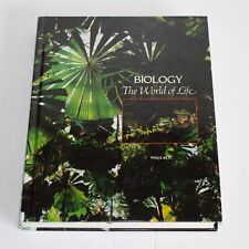 Biology The World of Life by Robert A Wallace - Hardback - Natural World