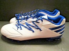 Adidas Freak X Carbon Football Cleats Sneakers Men's White Royal Blue Size 13