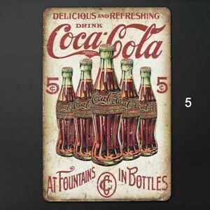 Retro Vintage Metal Tin Sign Bar Home Cola Drink Wall Decor Iron Art Poster