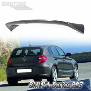 Carbon For BMW 1-Series E87 5DR  / E81 3DR Hatchback  A Type Rear Roof Spoiler