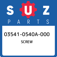 03541-0540A-000 Suzuki Screw 035410540A000, New Genuine OEM Part