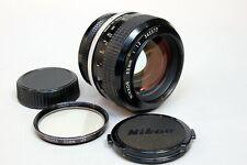 Nikon Nikkor 55mm f1.2 non-AI lens for Nikon F mount - some fungus, dust & haze