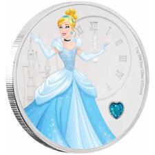 Niue 2 Dollar 2018 Disney Cinderella Aschenputtel Edelsteinserie 1 Oz Silber PP