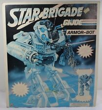 HASBRO VTG 1993 GI JOE STAR BRIGADE ARMOR BOT EUROPEAN BOX ONLY - NO TOYS