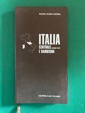 Touring Club Italiano Nuova Guida Rapida Italia Centrale e Sardegna seconda part