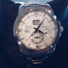 Seiko Premier Kinetic Perpetual Calendar Men's Watch SNP133P1