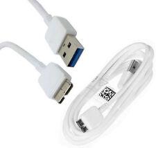 CABLE DE CARGA Y DATOS USB 3.0 (M) A USB 2.0 (M) PARA DISCO DURO ETC - BLANCO