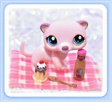❤️Authentic Littlest Pet Shop LPS #1624 Pink Cream Ferret Weasel Accessory❤️