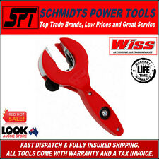 WISS RATCHETING COPPER & ALUMINIUM PIPE CUTTER 6-23mm TUBE CUTTING TOOL WRPCMD