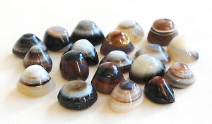 REIKI ENERGY CHARGED UNIQUE AGATE SHIVA EYES CRYSTAL STONES OF PROTECTION small
