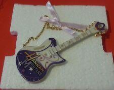 LENOX Disney Hannah Montana Rockin' Holiday Guitar Ornament personalized Madison