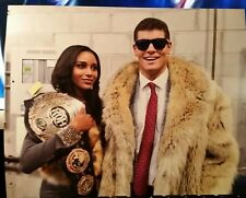 Brandi Rhodes Cody Rhodes 8x10 photo ROH Belt Bullet Club American Nightmare TNA