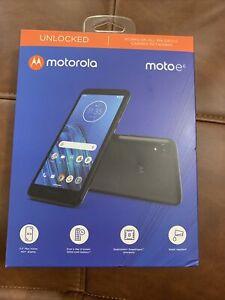 Motorola Moto E6 - 16GB - Black (Unlocked) Smartphone