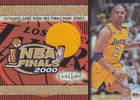 2000-01 Topps Gold Label Game Jerseys #TT7H Derek Fisher Jersey