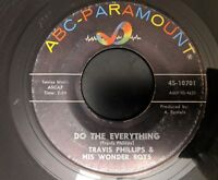 Travis Phillips & His Wonder Boys: Do The Everything / That's Alright 45 Soul VG