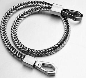 """NEW Stainless Steel Silver Link Biker Trucker Punk Wallet Chain 16 """" Long"""