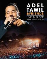 ADEL TAWIL -ADEL TAWIL & FRIENDS:LIVE AUS DER WUHLHEIDE BERLIN 2CD+BLU-RAY NEW