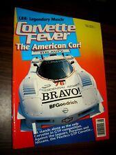 Corvette Fever Magazine Covette L88 Legendary Muscle August 1989