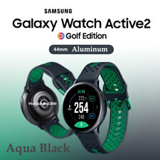 Samsung Galaxy Watch Active 2 Golf Edition SM-R820 44mm Aluminum - Aqua Black -