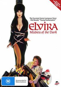 Cassandra Peterson ELVIRA: MISTRESS OF THE DARK - COMEDY HORROR DVD (NEW/SEALED)