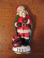 Memories of Santa Collection 1927 Confectionary Santa New In Box