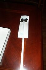 Pacifier Holder For Baby Collectibles America Bow and Ribbon Holder  NEW In Box
