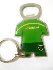 "Heineken Tennis Masters Cup Bottle Opener Key Chain Combo 3-3/4"" long x 2"" wide"