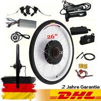 """26"""" 36V 250W Rear Wheel Electric Bicycle Motor Conversion Kit E-Bike Cycling DE"""