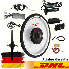 "36V 250W 26"" Rear Wheel Electric Bicycle Motor Kit E-Bike Cycling Hub Conversion"