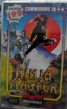 Ninja Master (Firebird 1987) Commodore C16 (Tape) (Game, Manual, Box) 100% ok