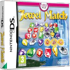 Nintendo DS NDS Lite DSI XL juego Jewel match 1 I nuevo