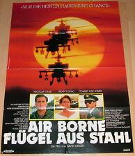 Nicolas Cage AIR BORNE - FLÜGEL AUS STAHL original Kino Plakat A1