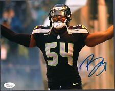 JSA Bobby Wagner Seahawks Autographed 8x10 Photo #3
