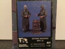 VERLINDEN Productions Ostfront Breakfast WWII 1:35 Scale Item #617