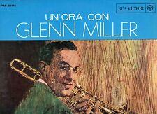 GLENN MILLER raro disco LP 33 GIRI Un' ora con...GLENN MILLER made in ITALY