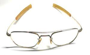 American Optical AO 12K GF 5 1/2 Gold Aviator Sunglasses / Frames G3