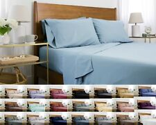 Premium Quality 6-Piece Ultra-Soft Brushed Microfiber Bed Deep Pocket Sheet Sets