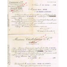 SOLDE du COMPTE au 31 Déc. 1931 pour Émile KRUGER de St LAURENT d'AIGOUZE 1932