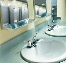 MOEN 4 in. Center set 2-Handle High-Arc Bathroom Faucet in Chrome