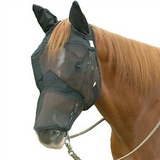Cashel Quiet-Ride Fly Masks - Long Nose With Ears - Draft