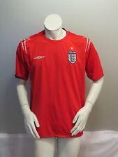 Team England Soccer Jersey -  2004 Away Jersey by Umbro - Men's XL